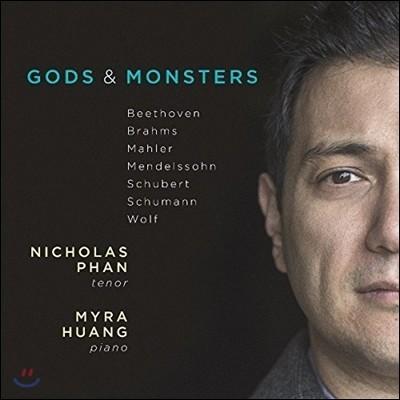 Nicholas Phan 신화와 전설을 주제로 한 독일 가곡들 (Gods & Monsters - Beethoven / Brahms / Mahler / Mendelssohn / Schubert / Schumann / Wolf) 니콜라스 판, 마이라 황