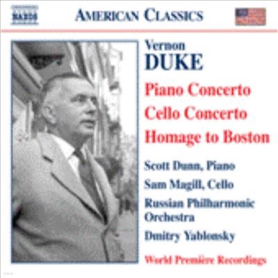 American Classics - 듀크: 피아노 협주곡, 첼로 협주곡, 보스톤 추억 (세계 최초 녹음) (Vernon Duke: Piano Concerto, Cello Concerto, Homage to Boston) - Dmitry Yablonsky