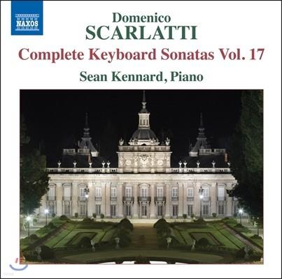 Sean Kennard 도메니코 스카를라티: 건반 소나타 전곡 17집 [피아노 연주반] (Domenico Scarlatti: Complete Keyboard Sonatas Vol.17) 숀 케나드