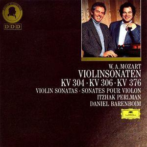 Itzhak Perlman, Daniel Barenboim / Mozart : Violinsonaten, KV 304, 306 & 376 (수입/4312772)