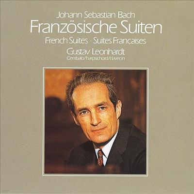 바흐: 프랑스 모음곡 (Bach: French Suites BWV912-817) (Ltd. Ed)(일본반) - Gustav Leonhardt