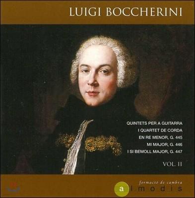 Almodis 보케리니: 기타 오중주 2집 (Luigi Boccherini: Quintets For Guitar Vol.II - G. 445, 446 & G.447) 앙상블 알모디스