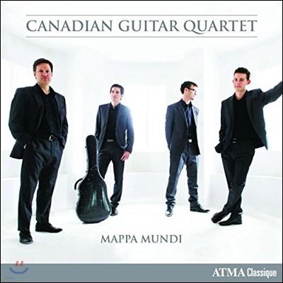 Canadian Guitar Quartet 마파 문디 - 기타 사중주로 연주하는 비발디와 현대작품 (Mappa Mundi - Vivaldi / Bruderl / Cote-Giguere / Donkin)