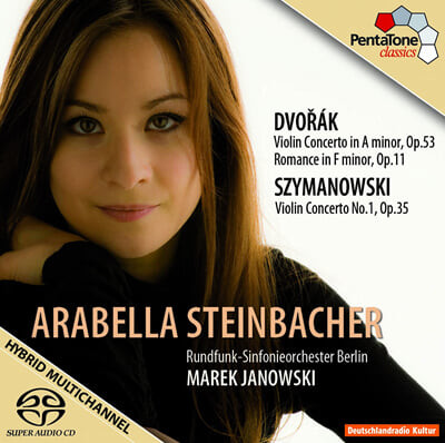 드보르작 / 시마노프스키 : 바이올린 협주곡 - 슈타인바허
