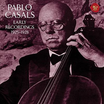 카잘스 - 첼로 소품집 (Art Of Pablo Casals, 1925-1928) (Ltd. Ed)(일본반) - Pablo Casals
