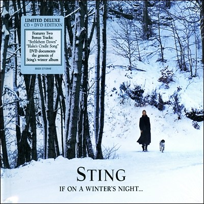 Sting - If On A Winter's Night (+보너스 DVD 한정판)