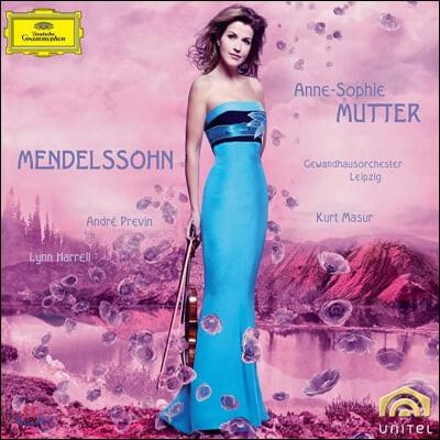 안네 소피 무터가 연주하는 멘델스존: 바이올린 협주곡, 소나타 외 (Anne-Sophie Mutter plays Mendelssohn)