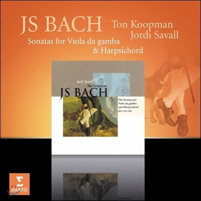Jordi Savall / Ton Koopman 바흐: 비올라 다 감바와 하프시코드를 위한 소나타집 (Bach: Sonatas for Viola da Gamba & Harpsichord)