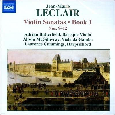 Adrian Butterfield 장-마리 르클레르: 바이올린 소나타 1권 - 9-12번 (Jean-Marie Leclair: Violin Sonatas Book 1 Nos.9-12)