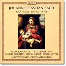 Sigiswald Kuijken 바흐: 칸타타 BWV 82, 49, 58 - 지기스발트 쿠이켄 (Bach: Cantatas)