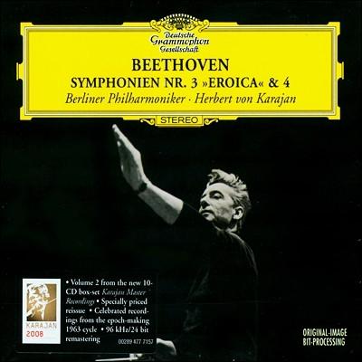 Herbert von Karajan 베토벤: 교향곡 3번, 4번 - 카라얀