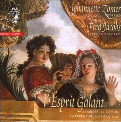 Johannette Zomer 우아한 에스프리 - 요하네터 조머르가 부르는 프랑스 노래 (L'Esprit Galant - Lambert / Le Camus / Charpentier)