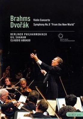 Claudio Abbado 베를린 필 2002년 유러피언 콘서트 - 드보르작: 교향곡 9번 '신세계로부터' / 브람스: 바이올린 협주곡 [DVD]