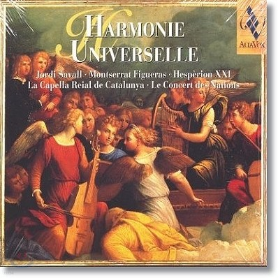Jordi Savall 알리아 복스 베스트 샘플러 1집 (Harmonie Universelle)