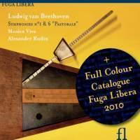 Alexander Rudin / 베토벤 : 교향곡 1번, 6번 '전원' (2010 카탈로그 포함/Digipack/수입/FUG564)
