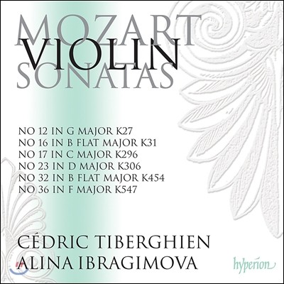 Alina Ibragimova 모차르트: 바이올린 소나타 3집 - 알리나 이브라기모바 (Mozart: Violin Sonatas Vol.3 - Nos.12, 16, 17, 23, 32 & 36)