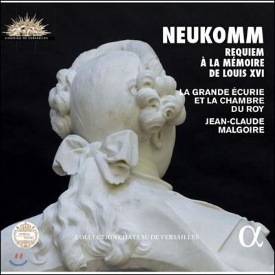 Jean-Claude Malgoire 지기스문트 노이콤: 루이 16세를 위한 레퀴엠 (Sigismund Neukomm: Messe de Requiem a la Memoire de Louis XVI) 장 클로드 말구아르