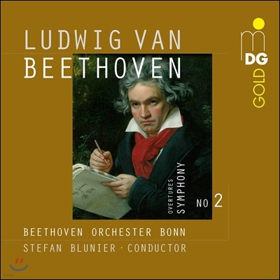 Stefan Blunier 베토벤: 교향곡 2번, 에그몬트, 코리올란 서곡, 프로메테우스의 탄생 외 (Beethoven: Symphony Op.36, Egmont, Coriolan, Die Geschopfe des Prometheus) 슈테판 블루니어