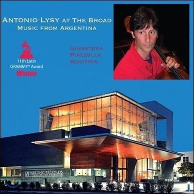 Antonio Lysy 아르헨티나의 음악들 - 히나스테라 / 피아졸라 / 쉬프린 (Antonio Lysy at the Broad: Music from Argentina - Ginastera / Piazzolla / Schifrin) 안토니오 리지 [LP]