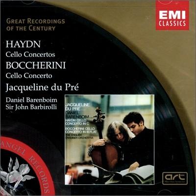 하이든 / 보케리니 : 첼로 협주곡 - 자클린 뒤 프레