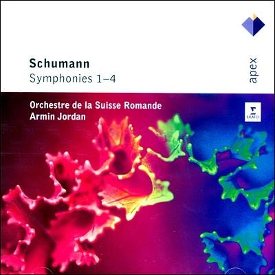 Armin Jordan 슈만: 교향곡 전곡집 (Schumann: Symphonies Nos. 1-4)
