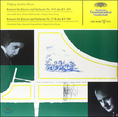 Clara Haskil 모차르트: 피아노 협주곡 19, 27번 (Mozart: Piano Concerto K459, 595) [LP]