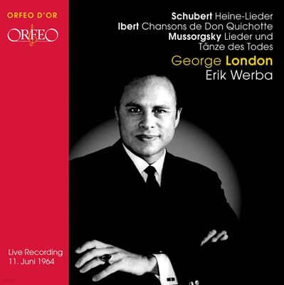 조지 런던 : 1964년 리사이틀