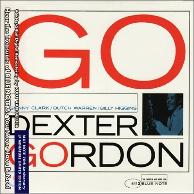 Dexter Gordon - Go!: Blue Note LP Miniature Series