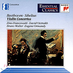 David Oistrakh 베토벤 / 시벨리우스 : 바이올린 협주곡 (Beethoven / Sibelius : Violin Concerto0