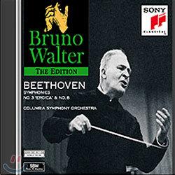 Bruno Walter 베토벤: 교향곡 3번 `에로이카`, 8번 - 브루노 발터 (Beethoven : Symphony No.3 Eroica & 8)