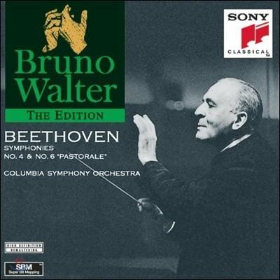 Bruno Walter 베토벤: 교향곡 4번 6번 '전원' (Beethoven: Symphony No.4, No.6 `Pastoral`) 브루노 발터