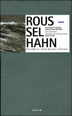 Alexandre Tharaud / Jean-Guihen Queyras 루셀: 피아노 오중주 / 안 : 협주곡 (Hahn and Roussel)