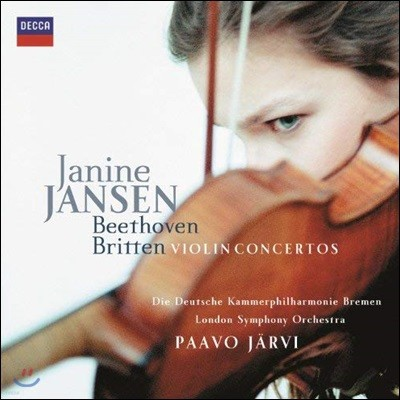 Paavo Jarvi / Janine Jansen 베토벤 / 브리튼: 바이올린 협주곡 (Beethoven / Britten: Violin Concerto) 파보 예르비, 야니네 얀센