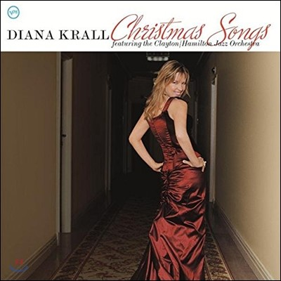 Diana Krall (다이애나 크롤) - Christmas Songs: Featuring The Clayton/ Hamilton Jazz Orchestra [LP]