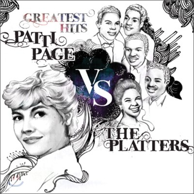 Patti Page vs The Platters - Greatest Hits