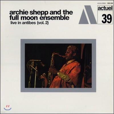 Archie Shepp & The Full Moon Ensemble (아치 �� & 풀 문 앙상블) - Live In Antibes Vol. 2 (앙티브 주앙레뼁 페스티벌 라이브 2집) [LP]
