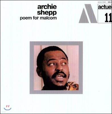 Archie Shepp (아치 ��) - Poem For Malcom [LP]
