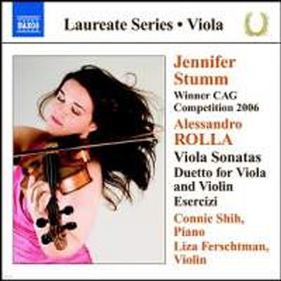 롤라 : 비올라와 피아노를 위한 소나타 (Viola Recital - Jennifer Stumm)(CD) - Jennifer Stumm