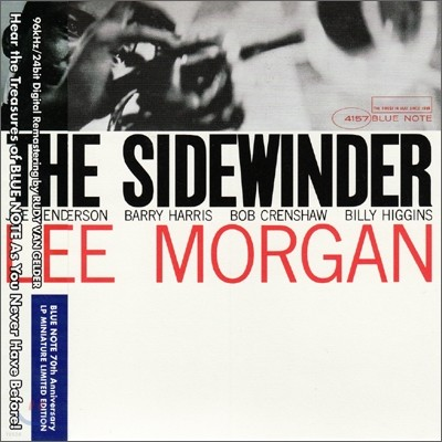 Lee Morgan - The Sidewinder: Blue Note LP Miniature Series