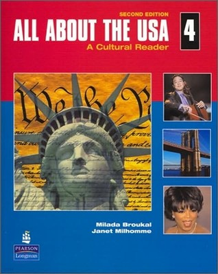 All About the USA 4 : A Cultural Reader (Book & CD)