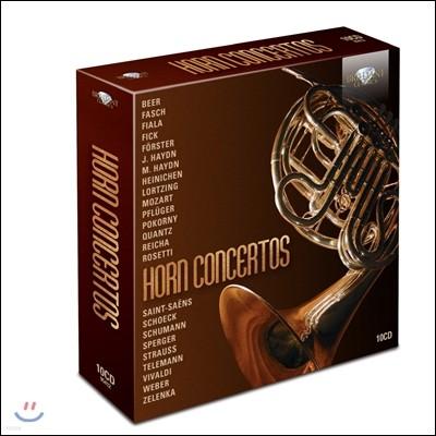여러 음악가들의 호른 협주곡 모음집 - 요제프 & 미하엘 하이든 / 모차르트 / 크반츠 / 생상스 / 비발디 / 텔레만 (Horn Concertos - Haydn / Mozart / Quantz / Saint-Saens / Vivaldi / Telemann)