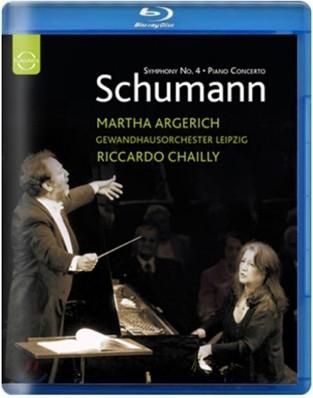 Martha Argerich / Riccardo Chailly 슈만 : 피아노 협주곡 & 교향곡 4번 - 아르헤리치, 샤이