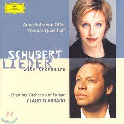 슈베르트 : 가곡집 (오케스트라 반주버전) - 폰 오터, 콰스토프