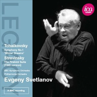 스트라빈스키: 불 새, 차이코프스키: 교향곡 1번 '겨울 날의 몽상' (Stravinsky: Firebird Suite, Tchaikovsky: Symphony No.1 'Winter Daydreams') - Evgeny Svetlanov