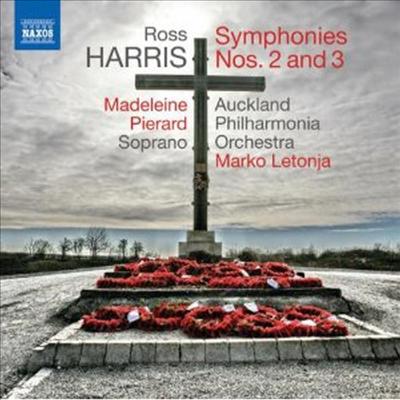 로스 해리스: 교향곡 2번, 3번 (Ross Harris: Symphonies Nos. 2 & 3) - Marko Letonja