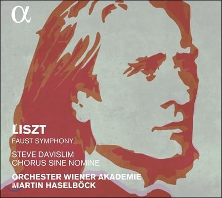 Martin Haselbock 리스트: 파우스트 교향곡 (Liszt: Faust Symphony) 마르틴 하젤뵈크, 빈 아카데미 오케스트라