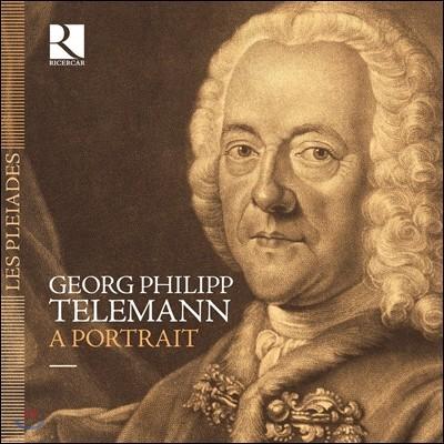 텔레만의 초상 - 서거 250주년 기념 8CD 박스세트 (George Philipp Telemann: A Portrait)