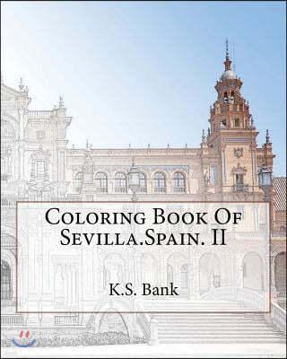 Coloring Book of Sevilla, Spain
