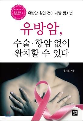 유방암, 수술 항암 없이 완치할 수 있다