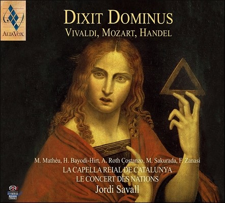 Jordi Savall / Le Concert des Nations 주께서 말하기를 (딕시트 도미누스) - 비발디 / 모차르트 / 헨델 (Dixit Dominus - Vivaldi / Mozart / Handel) 조르디 사발, 르 콩세르 데 나시옹